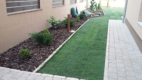 Egyedi kertek tervezése és kivitelezése, gyepszőnyeg telepítése a Design Garden Kft szakértelmével.