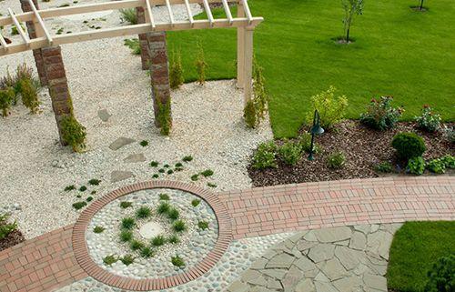 Kertépítés, térkövek, kőburkolatok lerakása a Design Garden Kft-vel.